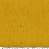 Sweat moucheté moutarde 20 x 140 cm