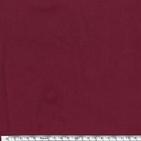 Jersey 95% coton 5% spandex bordeaux 20 x 140 cm