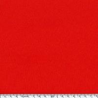 DERNIER COUPON Tissu Softshell déperlant uni rouge 30 x 140 cm