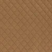 Jersey matelassé FDS caramel 20 x 130 cm