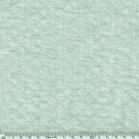 Jersey matelassé vert pâle chiné 20 x 150 cm