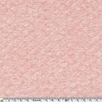 Jersey matelassé rose chiné 20 x 150 cm