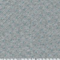 Molleton double-face gris et bleu 20 x 140 cm