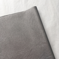 Simili cuir argent foncé 20 x 140 cm