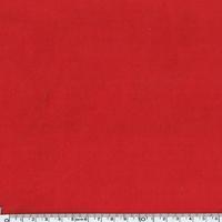 Velours lisse épais rouge 20 x 140 cm