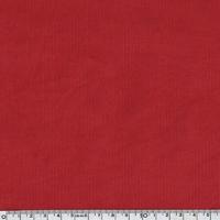 Velours milleraies 100% coton rouge 20 x 140 cm