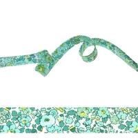 Biais Liberty Betsy Ann Mint and Lemon coloris I 50cm