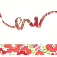Biais Liberty Betsy Fraise Tagada coloris G 50cm
