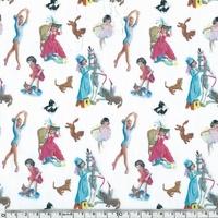 Tissu Les aventures de Martine 20 x 140 cm