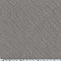 Jersey matelassé gris rosé 20 x 150 cm