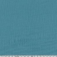 Tissu double gaze de coton unie coloris orageux 20 x 135 cm