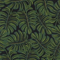 Viscose Rifle Paper Ménagerie Monstera Midnight 20 x 110 cm