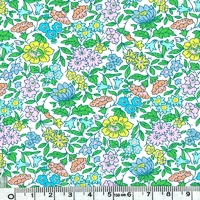 Liberty Favorite Flowers vert coloris B 20 x 137 cm