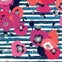 Jersey Skopelos Paparounes Crimson 20 x 150 cm