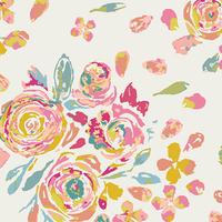 Jersey Fleet & Flourish Swifting Flora Fond 20 x 150 cm