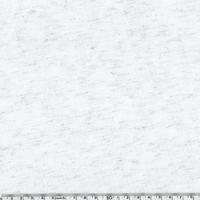 Jersey lurex blanc / argent 20 x 150 cm
