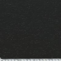 Jersey lurex noir / argent 20 x 150 cm