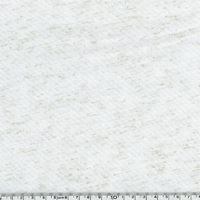 COUPON de Jersey lurex blanc / or 1m60 x 150 cm