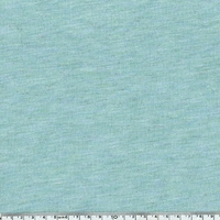 COUPON de Jersey lurex mint / argent 1m60 x 150 cm