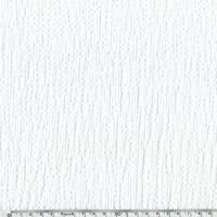 Coton gaufré blanc 20 x 135 cm