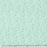 DERNIER COUPON Popeline Circus Stars poussière d'étoiles 1m10 x 140 cm
