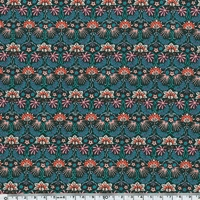Liberty Popeline Jungle Mallow coloris B 20 x 140 cm