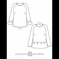 Patron blouse Stockholm (34-48)