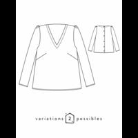 Patron blouse Idylle (34-48)
