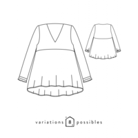Patron blouse Zéphir (34-48)