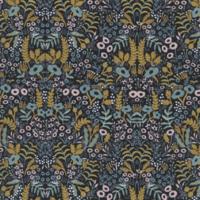 Tissu Rifle Paper Ménagerie Tapestry Midnight 20 x 110 cm