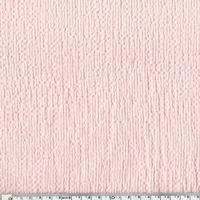 Coton gaufré rose nude 20 x 135 cm