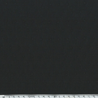 Plumetis coloris noir 20 x 140 cm