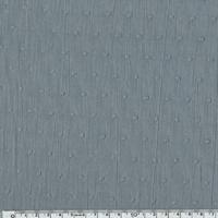 Plumetis coloris gris 20 x 140 cm