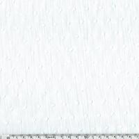 Plumetis coloris blanc 20 x 140 cm