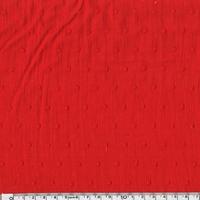 Plumetis coloris rouge 20 x 140 cm