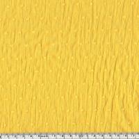 Plumetis coloris jaune soleil 20 x 140 cm