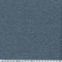 Jersey 95% coton 5% spandex marine chiné 20 x 140 cm