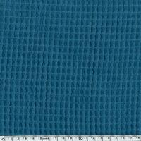Tissu Nid d'abeille bleu 20 x 140 cm