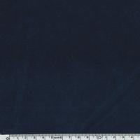 Jersey velours lisse marine 20 x 140 cm