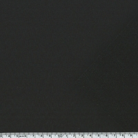 Tissu déperlant Softshell noir 20 x 140 cm