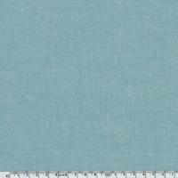 Tissu coton effet chambray océan 20 x 140 cm