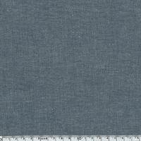 Tissu coton effet chambray marine 20 x 140 cm