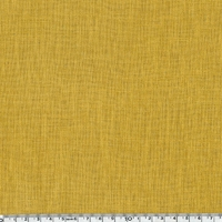 Lin épais coloris moutarde 20 x 140 cm