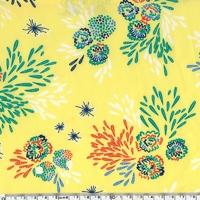 Crêpe lisse Seto coloris paille 20 x 140 cm