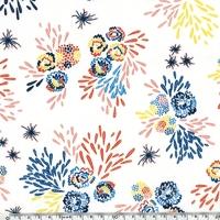 DERNIER COUPON Crêpe lisse Seto coloris paille 95x 140 cm