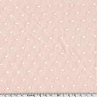 Tissu Plumetis chambray coloris rose pâle 20 x 140 cm