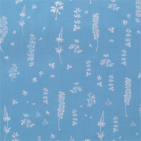 Viscose Herbs Light Blue 20 x 140 cm