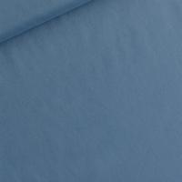 DERNIER COUPON Batiste de coton coloris Bleu Dyna 85 x 140 cm