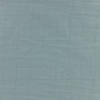 Double gaze lisse FDS carreaux argent fond vert de gris 20 x 140 cm