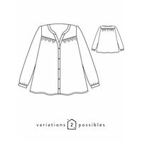 Patron blouse Envol (34-48)